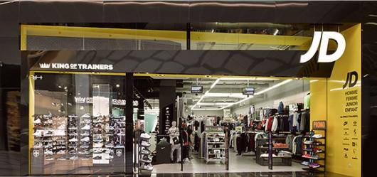 Neueröffnung eines JD Sports Stores
