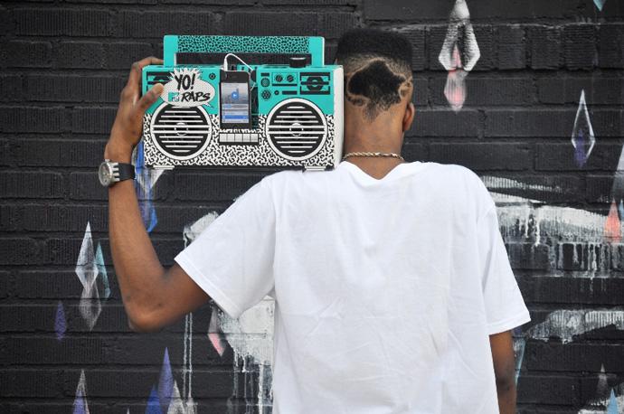 YO! MTV RAPS BOOMBOX