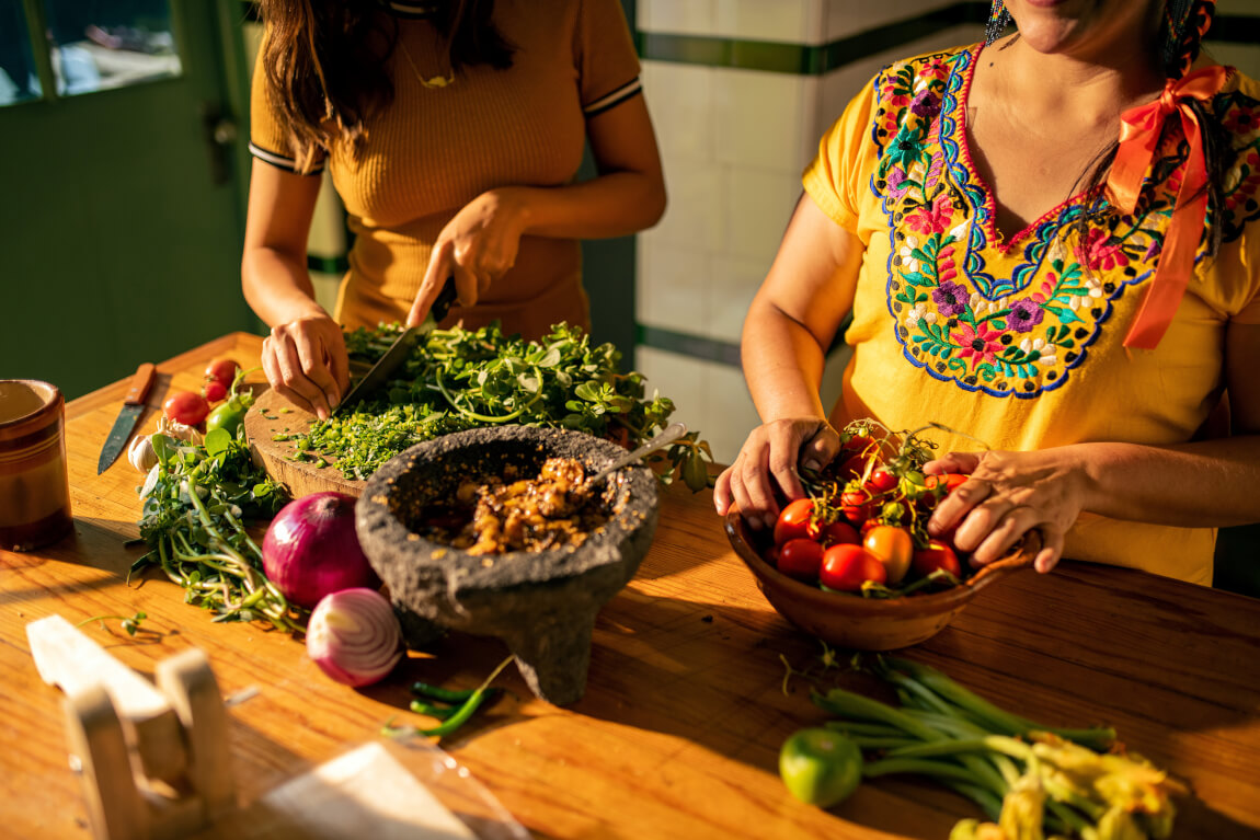 Historical food traditions of Mexico