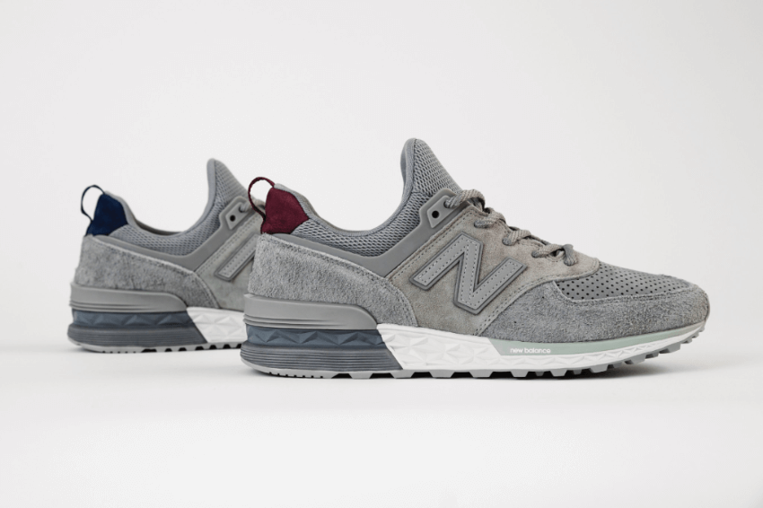 New Balance Peaks to Streets Dark Grey