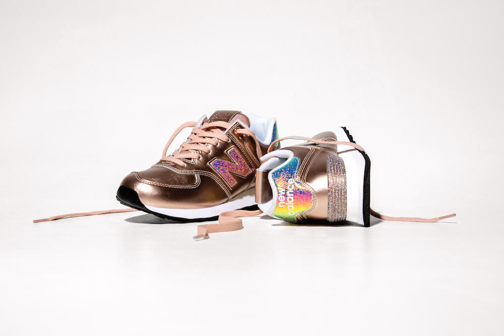 NewBalance Glitter Punk Pack Bronze Shot II