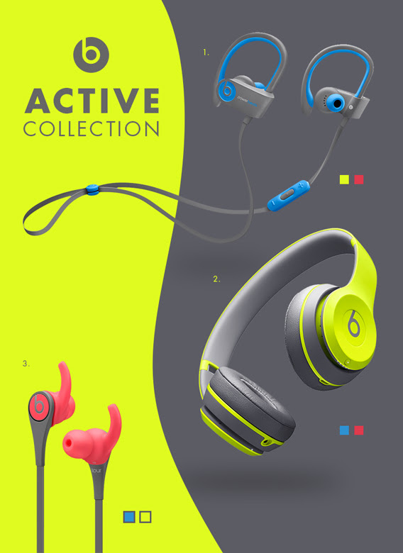 Beats by Dr. Dre präsentiert die Active Collection